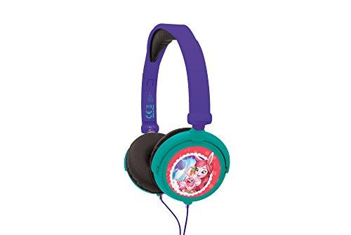 Enchantimals – Cascos Estéreo, Auriculares con Diadema Ajustable Y Plegable, Multicolor