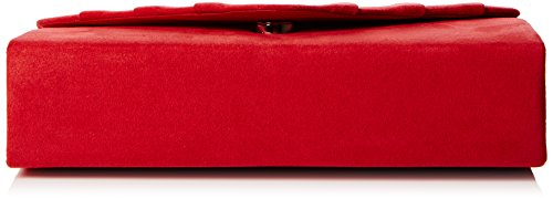 Red Suede Prom Velvet Party Envelope Women's Bag Red Iggy Clutch Clutch SwankySwans RwCqPBZx