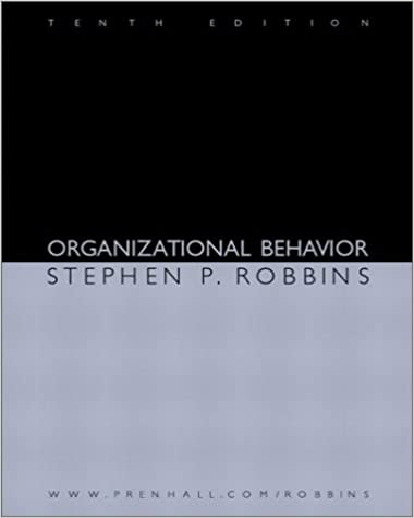Organizational behavior 10th edition stephen p robbins organizational behavior 10th edition 10th edition fandeluxe Choice Image