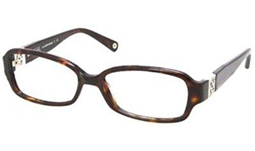 Coach Gloria Eyeglasses HC6007B 5001 Dark Tortoise Demo Lens 54 16 - Glasses Coach Reading