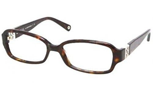 Coach Gloria Eyeglasses HC6007B 5001 Dark Tortoise Demo Lens 54 16 - Coach Glasses Reading