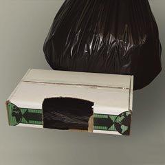 ESSECO60XH - Flexsol ECO60XH Black Economy Ecosac Sturdy Sax Can Liners, 55 (Best Sax Trash Bags)
