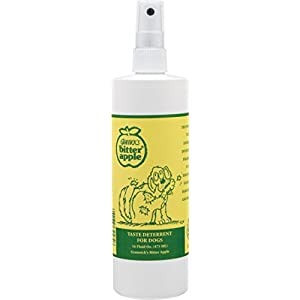 Grannick's Bitter Apple for Dogs Spray Bottle, 16 Ounces