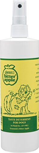Puppy Training Spray - Grannick's Bitter Apple for Dogs Spray Bottle, 16 Ounces