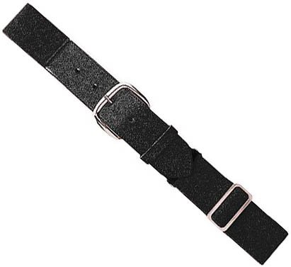 Black Adult Baseball/Softball Adjustable Elastic Belt