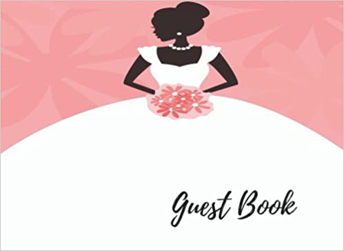 amazoncom guest book bridal shower guest book alternatives for over 200 guests free layout to use as you wish for names addresses or advice wishes