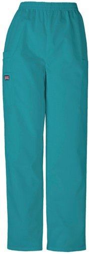Petite Utility Pant (Real Teal;3X-Large) by Cherokee