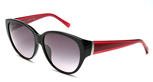 john-galliano-womens-cat-eye-two-tone-sunglasses-black-red