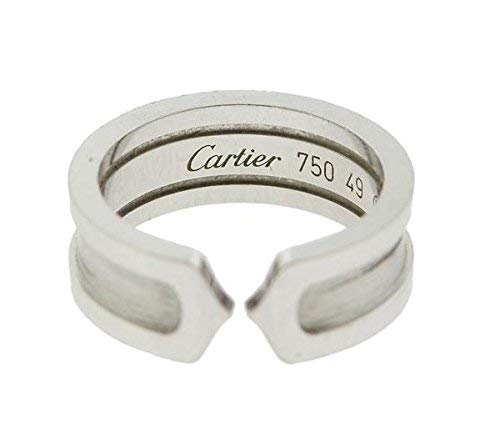 Amazon Com Authentic 18k White Gold Cartier Classic Wedding Cuff