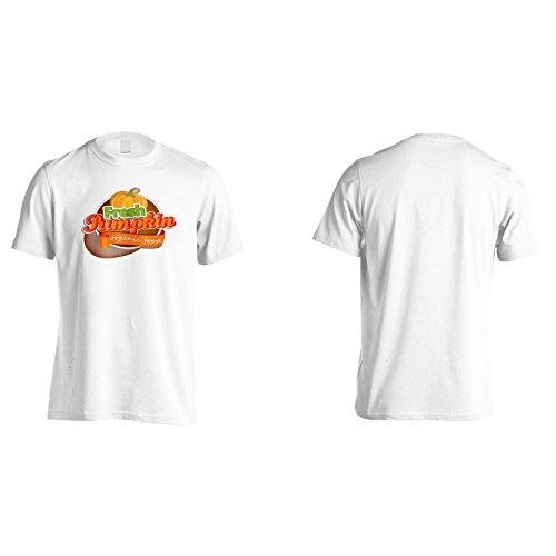 Neue Frische Kürbis Bio Herren T-Shirt l923m