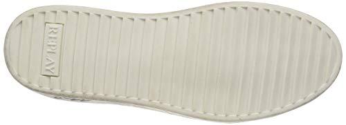 First Scarpe Da Donna 81 white Multicolore Silver Basse Replay Ginnastica w4gdEBxq