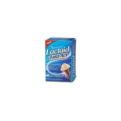 Lactaid Lactase Enzyme Supplement - 90 Caplets by Lactaid