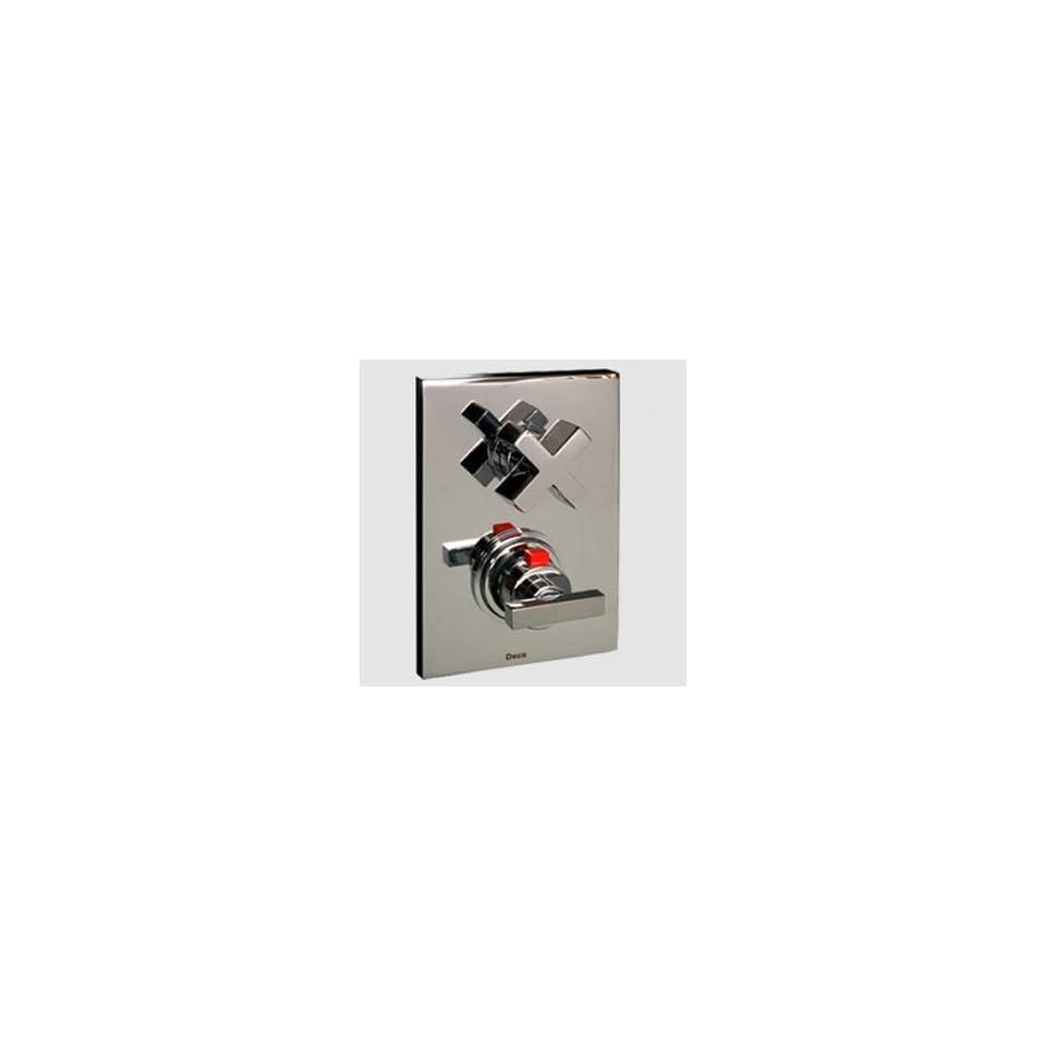 Deca 2430C88EX Polished Chrome Bathroom Faucets Thermostatic Shower Valve & Trim