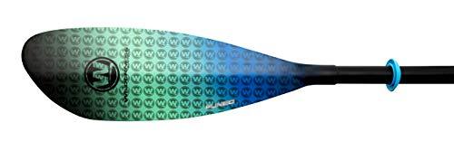 Wilderness Systems Pungo Glass Recreation/Touring Kayak Paddle   Fiberglass Blade   Adjustable Carbon/Fiberglass Shaft (220-240cm)