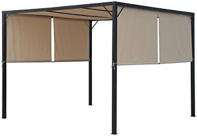 Christopher Knight Home 304392 Wendy Outdoor Steel Framed 10' Gazebo