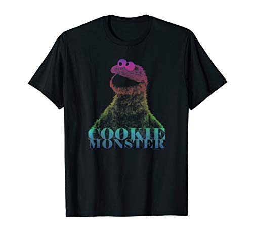 Sesame Street Cookie Monster Halftone T -