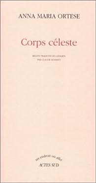 Corps céleste par Anna Maria Ortese