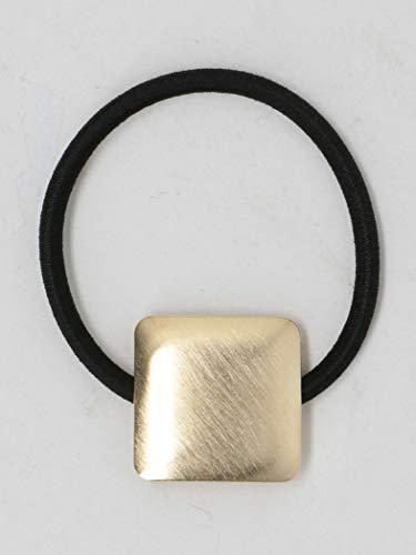[해외](뷰티 및 청소년 연합) BY 메탈 스퀘어 헤어 고무 18346990775 0500 GOLD (05) FREE / (Beauty & Youth United Arrows) BY Metal Square Hair Rubber 18346990775 0500 GOLD(05)FREE