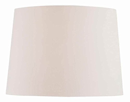 Lite Source CH1151-16OFF/WH 16-Inch Lamp Shade, Off-White (Spider)