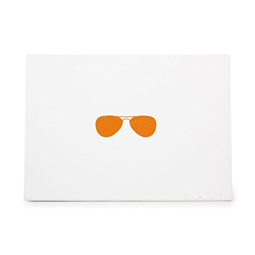 Sunglasses Eye Glasses Spectacles Sunshine Style 3893, Rubber Stamp Shape great for Scrapbooking, Crafts, Card Making, Ink Stamping Crafts (Sunglasses Rubber Stamp)