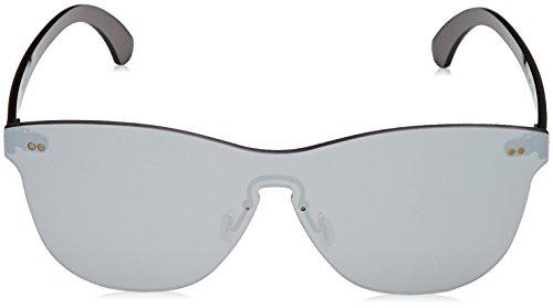 Lenoir Eyewear LE25.9N Lunette de Soleil Mixte Adulte, Argent