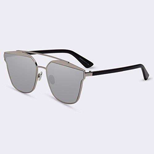 de sol Gafas C05Espejo marco Eyewears TIANLIANG04 Doppio C07Mirror calidad de lujo Señor reflejado Ponte objetivo Gafas mujeres 5TEwf1wn