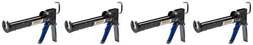 - Newborn Pro Super Ratchet Rod Caulk Gun with Gator Trigger Comfort Grip, 1/10 Gallon Cartridge, 6:1 Thrust Ratio (4-(Pack))