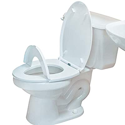 EZPeeZ : Revolutionary Children's Potty Training Toilet Seat / Regular Adult-Size Elongated Toilet Seat Converts To A Child-Size Seat With A Simple Flip Of The Lid