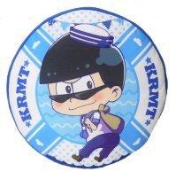 Osomatsu's Furimukyun Marin round cushion 1 larch separately by SYSTEM SERVICE (Image #1)