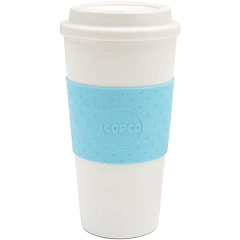 Copco Acadia Travel Mug, 16-Ounce, Azure Blue (Travel Coffee Mug 16 Ounce)
