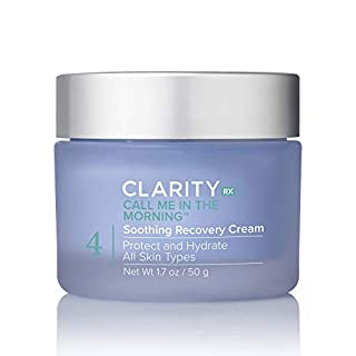 ClarityRx Call Me In The Morning Soothing Recovery Face Cream for All Skin Types (1.7 oz)