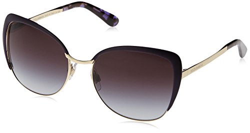 Dolce and Gabbana DG2143 12538G Pale Gold / Violet Sicilian Taste Cats Eyes - Usa Dolce And Gabbana