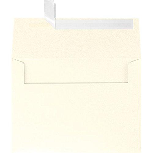 A4 Invitation Envelopes (4 1/4 x 6 1/4) - Champagne Metallic (50 Qty.)