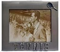 Aluminum Frame Tennis Picture Size: 4 X 6 by ALUMINUM
