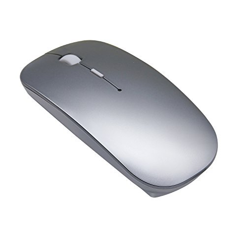 Quiet Wireless Bluetooth Mouse Rechargeable - Tsmine Mini Gaming Mouse...