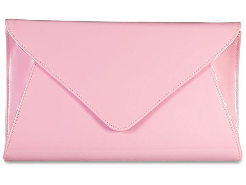 Evening Envelope Patent Retro Handbag Clutch Prom Bridal Party Womens Purse Ladies qEw40S