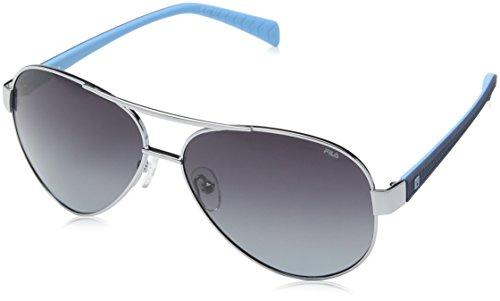nickel Fila Bleu Homme Lunettes Sh de Soleil Silver HOYHTqv