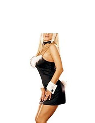 Cheap French Maid Costume Uk (PiterNace Sexy;cozy Women's Fantasy Wear Bunny Costume As ShownSmall)
