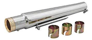 HardDrive 52-925 Trumpet Style Muffler Billet End Cap,1 Pack Billet Style End Cap