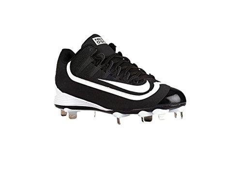 Nike Mens Huarache 2kfilth Keystone Mid Tacchetta Da Baseball Nero / Bianco