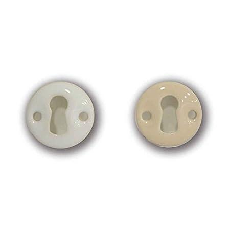 Bocallave de Porcelana Ø 32 mm, Disponible en Blanco UCAF