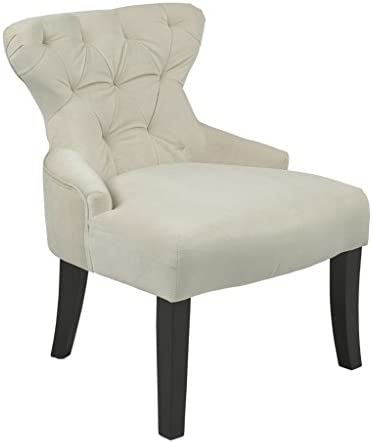 OSP Home Furnishings Curves Hour Glass Accent Chair