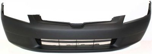 Crash Parts Plus Primed Front Bumper Cover Replacement for 2003-2005 Honda Accord Sedan ()