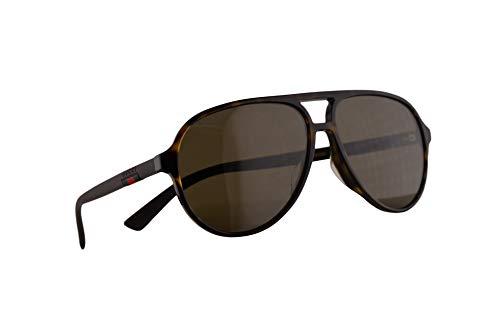 Gucci GG0423SA Sunglasses Havana w/Brown Lens 60mm 002 GG0423/SA 0423/SA GG 0423SA