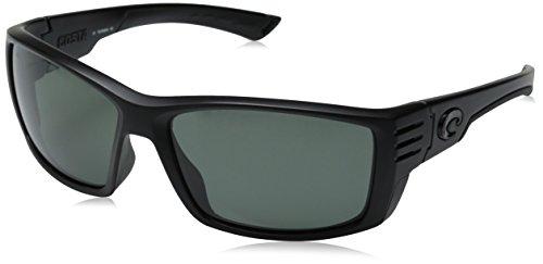 Costa Del Mar Cortez Sunglasses Blackout / Gray - Mar Del Casa Sunglasses