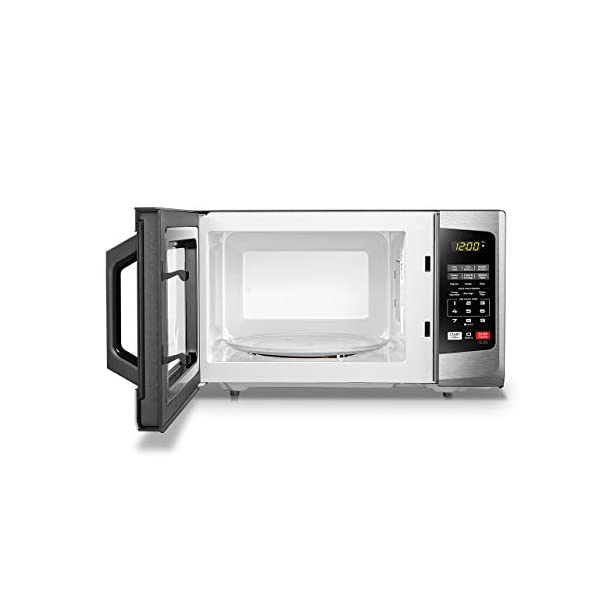 Toshiba EM925A5A-SS Microwave Oven with Sound On/Off ECO Mode and LED Lighting 0.9 cu. ft. Stainless Steel (Renewed) 7