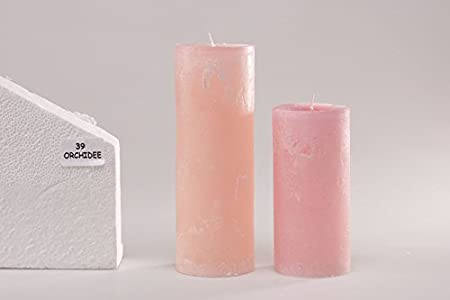 50 Stk 170x22mm Qualität Leuchtkerzen Leuchtkerze Kerze Tischdeko # ROSA