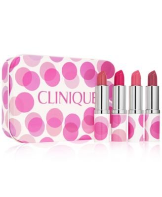 Amazoncom Clinique Plenty Of Pop Deluxe Set 4 Lipsticks With