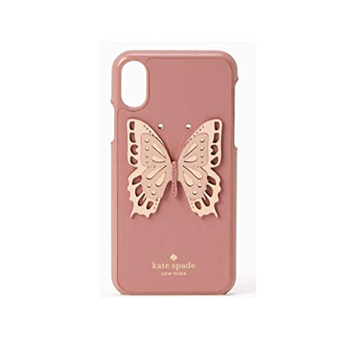 Snap Spade - Kate Spade New York Butterfly Applique Snap Case for iPhone Xs Max