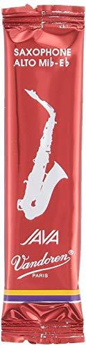 Vandoren SR2625R Alto Sax JAVA Red Reeds Strength 2.5; Box of 10